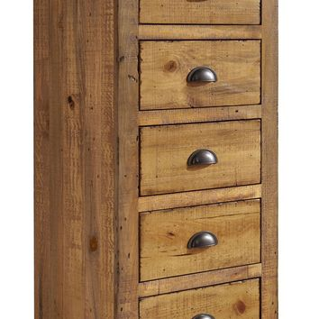 Willow Casual Lingerie Chest Distressed Pine