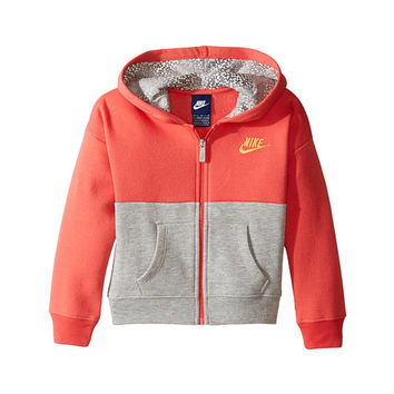Nike Kids Club Full Zip Hoodie Aop (Toddler)