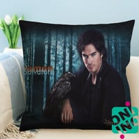 The Vampire Diaries Damon Salvatore Zippered Pillow Case, Cushion Case, Pillow case