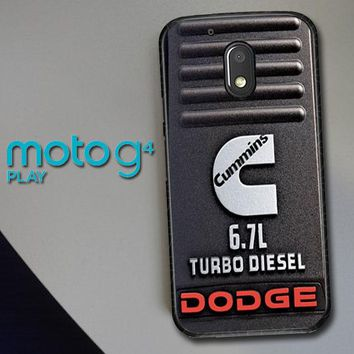 Cummins Turbo Diesel X4416 Motorola Moto G4 Play Case