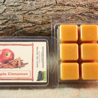 Apple Cinnamon Wax Tarts, Fall Scented Wax Melts, Apple Cinnamon Scented Candle Wax
