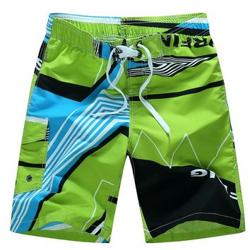 2017 New Mens Ocean Pacific Beach Full Sub Print Swim Shorts Pants Bottoms Size M-6XL Quick-Dry Summer Surf Board Beach Short