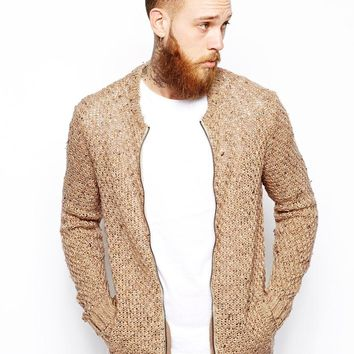 ASOS | ASOS Knitted Bomber Jacket at ASOS