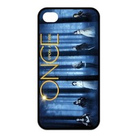 Alicefancy TV Show Theme Once Upon A Time Personalized Design TPU Cover Case For Iphone 4 / 4s YQC10686