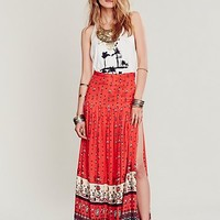 Spell & the Gypsy Collective Womens Desert Wanderer Split Maxi Skirt