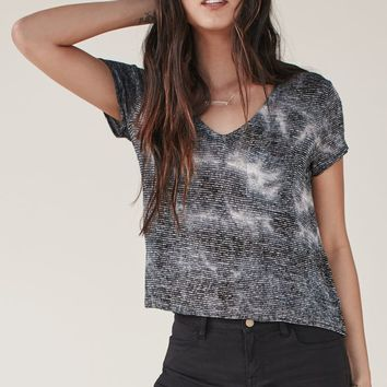 Me To We Summertime Knit Pocket T-Shirt - Womens Tee