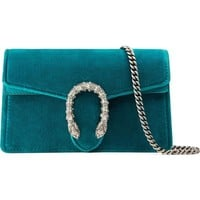 Gucci Super Mini Dionysus Velvet Shoulder Bag | Nordstrom