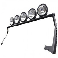 Smittybilt 5 LED Light Bar Assembly, Matte Black SB-76911