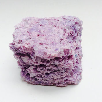 Lavender Moon Rock Salt Bar