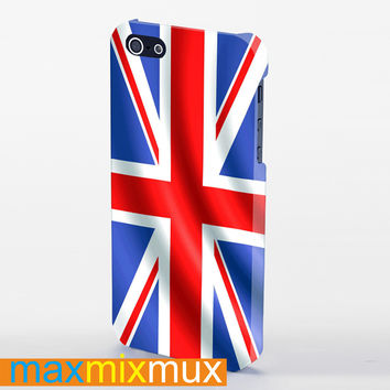 Flag Great Britain iPhone 4/4S, 5/5S, 5C Series Full Wrap Case