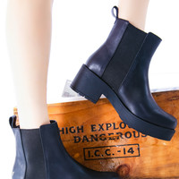 Windsor Smith Eager Boot Black