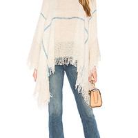 Michael Stars Even Better Poncho in Chalk | REVOLVE