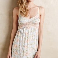 Underella Wildflower Lace Chemise Sky