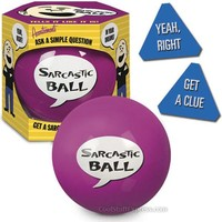 Sarcastic Ball - Magic 8 Ball With Attitude