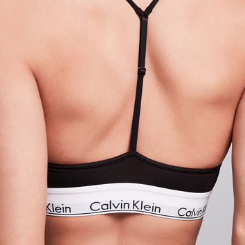 Calvin Klein Modern Cotton T-Back Bra | Urban Outfitters