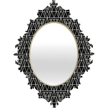 Holli Zollinger Diamond Lines Baroque Mirror