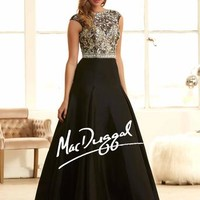 Ball Gowns by Mac Duggal 82359H Mac Duggal Ball Gowns Betsy's Prom in Vassar, MI 2014 Best Prom and Pageant Dresses