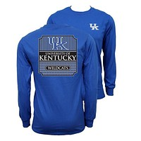 Southern Couture University of Kentucky Wildcats Long Sleeve T-Shirt