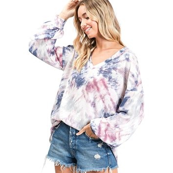 Spread The Love Tie Dyed Top