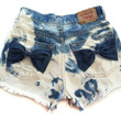 HIGH WAISTED Bleached FRAYED Destroyed Cut Off by Designsbybiancab