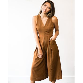 Ella Wide Leg Jumpsuit
