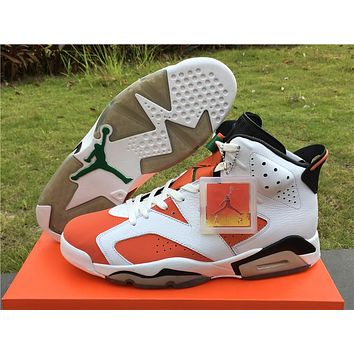 2017 air jordan retro 6 shoe Gatorade Mens Basketball Shoes Sneakers Eur 36-47 With box