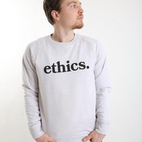 SOLD OUT - ethics. Sweatshirt - Back soon