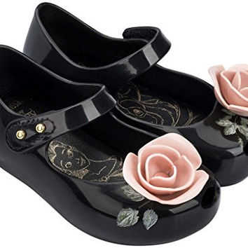 Mini Melissa Kids' Ultragirl Beauty and the Beast Mary Jane Flat