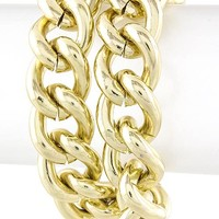 Double Gold Chain Bracelet - Buy From ShopDesignSpark.com