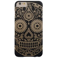 Day of the Dead Mexican Sugar Skull Barely There iPhone 6 Plus Case
