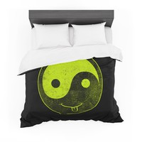 "Frederic Levy-Hadida ""Bad Ass Ying Yang"" Cotton Duvet"