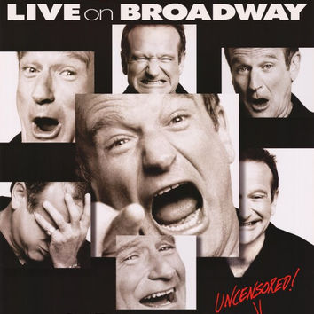 Robin Williams: Live on Broadway 11x17 Movie Poster (2002)