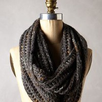Ansley Metallic Infinity Scarf by Anthropologie
