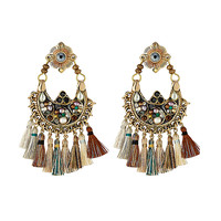 Gas Bijoux - Embellished Earrings with Tassels