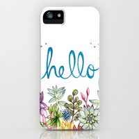 hello spring iPhone Case by Brooke Weeber | Society6
