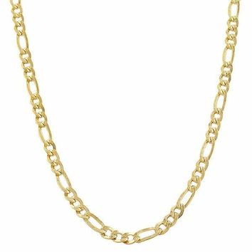 """10kt Yellow Gold Figaro Chain A21B4 28"""""""