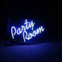 Party Room Neon Sign Glass Tube Neon Light