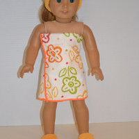 """American Girl Doll Clothes, 18"""" Doll Clothes Spa Set"""