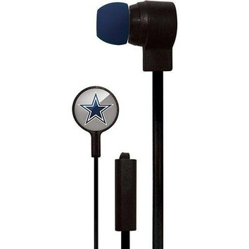 Dallas Cowboys Stereo Earbuds by Mizco