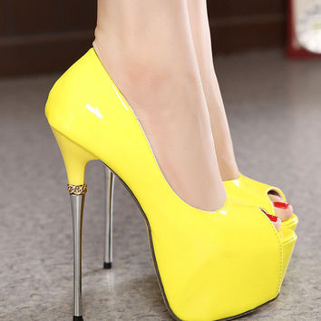 Sweets Pointed Toe Candy High Heel Shoes = 4814701636