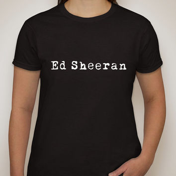 "Ed Sheeran ""Ed Sheeran"" Logo T-Shirt"