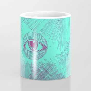 Uncommon Knowledge - Teal Mug by Ducky B