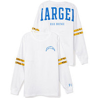 San Diego Chargers Bling Varsity Crew - PINK - Victoria's Secret