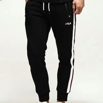 FILA 2018 spring new moisture-absorbing breathable sweatpants F-CY-MN