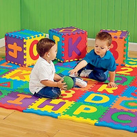 A-Z Alphabet Letters Numeral Foam Mat Play Mat Colorful Puzzle Kid Educational Toy Hot hot