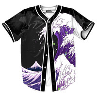 Purple Drank Waves Jersey