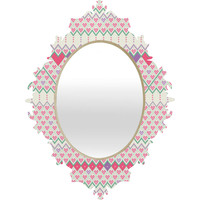 Belle13 Love Pattern Baroque Mirror
