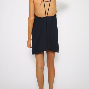 The Fifth Label - Up Til Dawn Playsuit - Navy