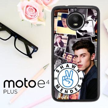 Shawn Mendes W3321 Motorola Moto E4 Plus Case