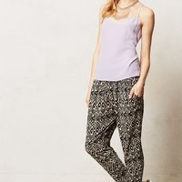 Deauville Joggers by Corey Lynn Calter Black Motif